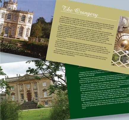 Guide book design and printing in Gloucestershire